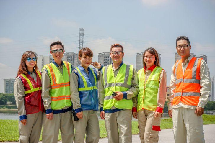 May đồng phục công nhân giá rẻ tại quận 12 tphcm