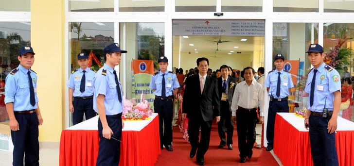 May đồng phục bảo vệ tại quận Tân Bình