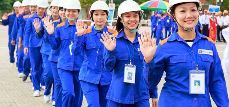 May đồng phục bảo hộ lao động giá rẻ - Đồng phục giá rẻ Sơn Trịnh