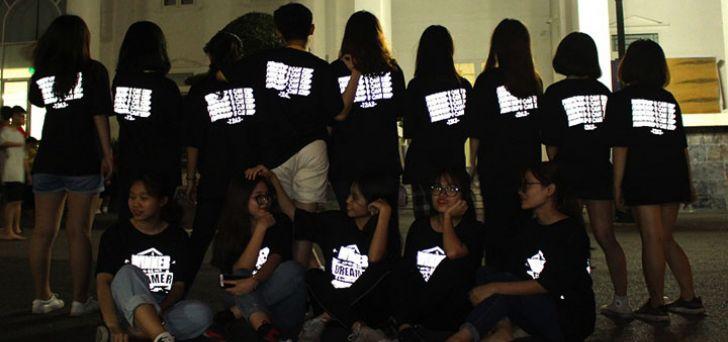 Đồng phục áo thun nhóm – Lớp đẹp, chất lượng, giá rẻ dịp cắm trại