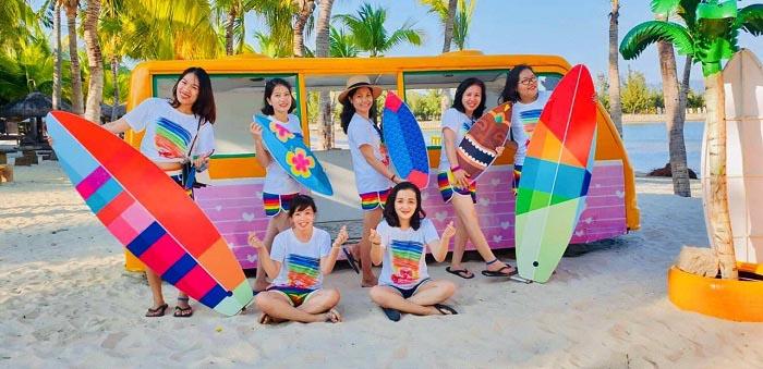 Xưởng may áo thun đồng phục nhóm giá rẻ tại quận 5 – TPHCM