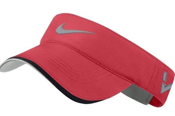 Nón kết đồng phục quảng cáo thể thao hở đầu màu đỏ Nike