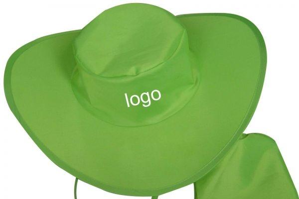 Nón tai bèo đồng phục quảng cáo hoặc làm quà tặng màu xanh lá mạ