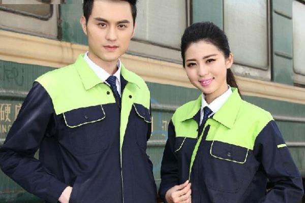 Đồng phục bảo hộ lao động công ty tay dài phối màu đen xanh